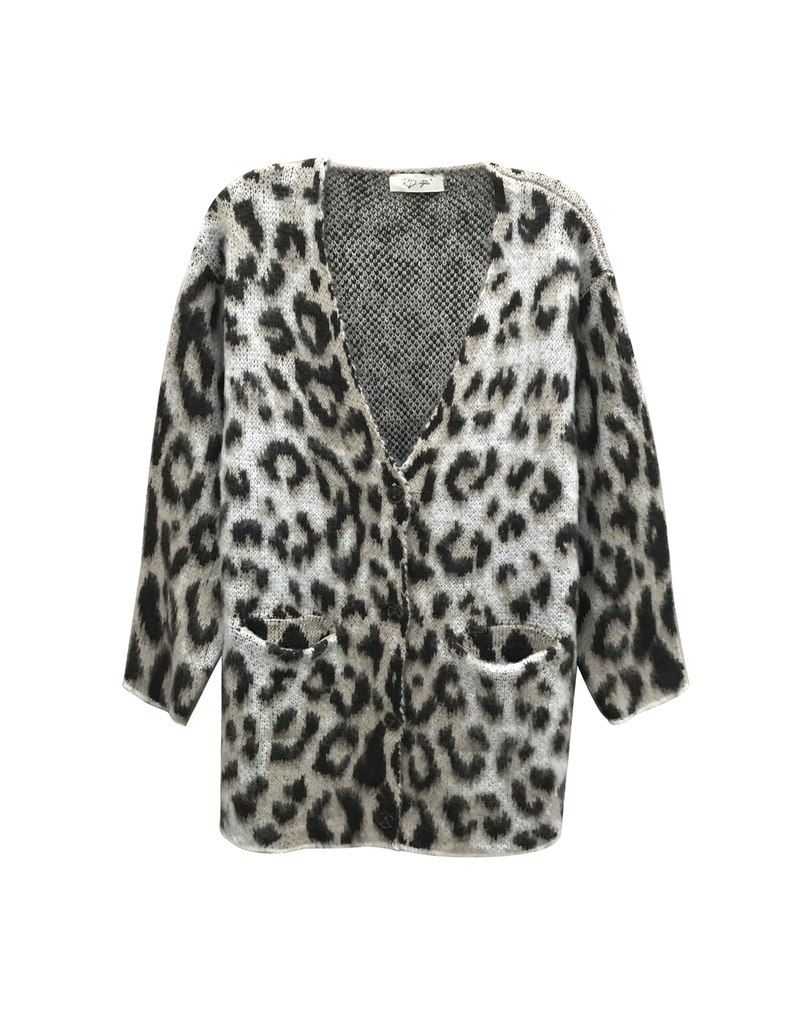 rd style rd style button up leopard cardigan