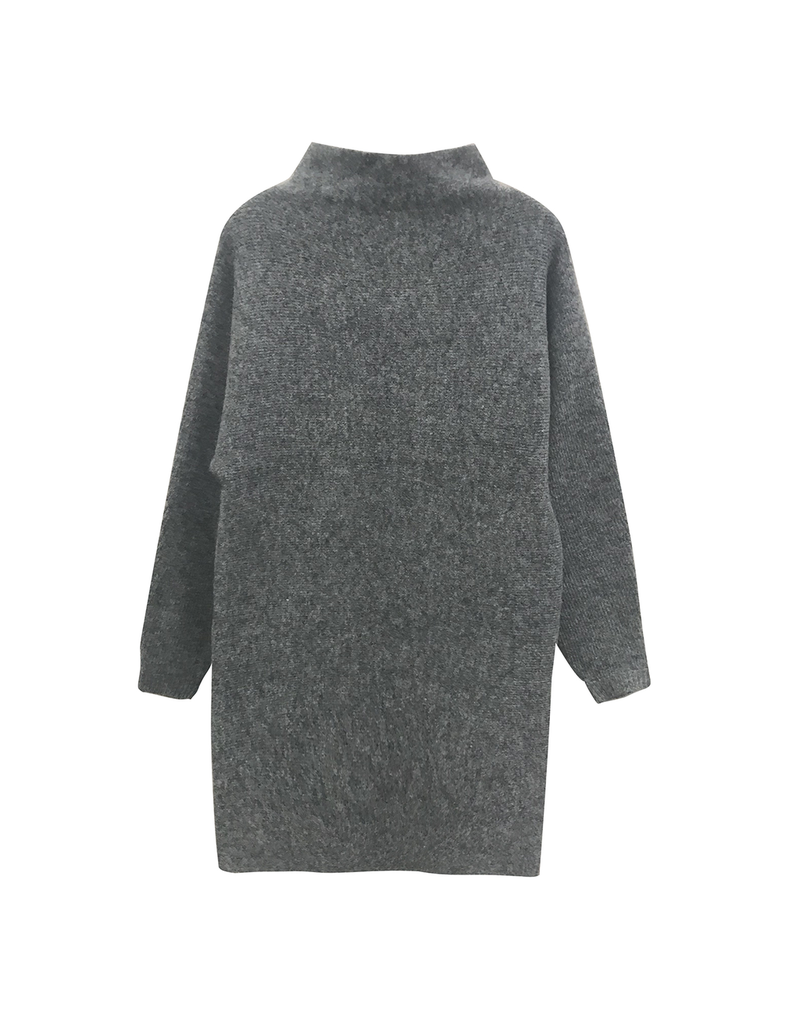 rd style rd style knit mock neck dress