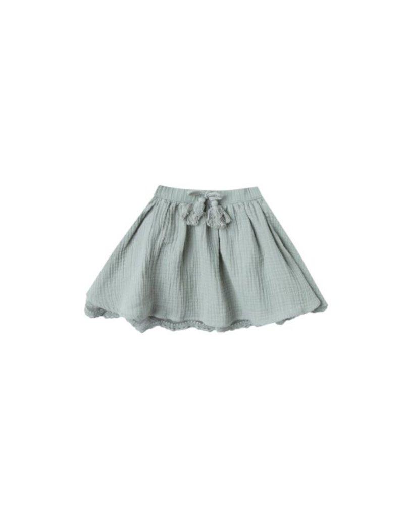 rylee cru rylee + cru lace mini skirt