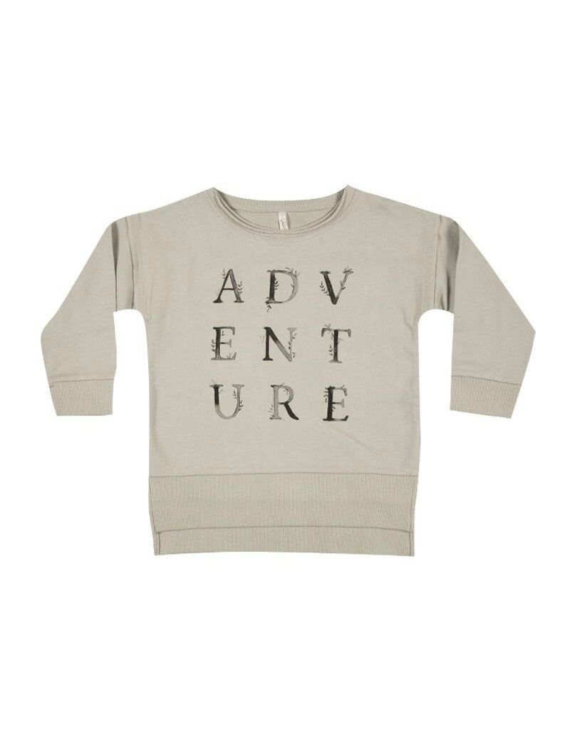 rylee cru rylee + cru longer back sweatshirt