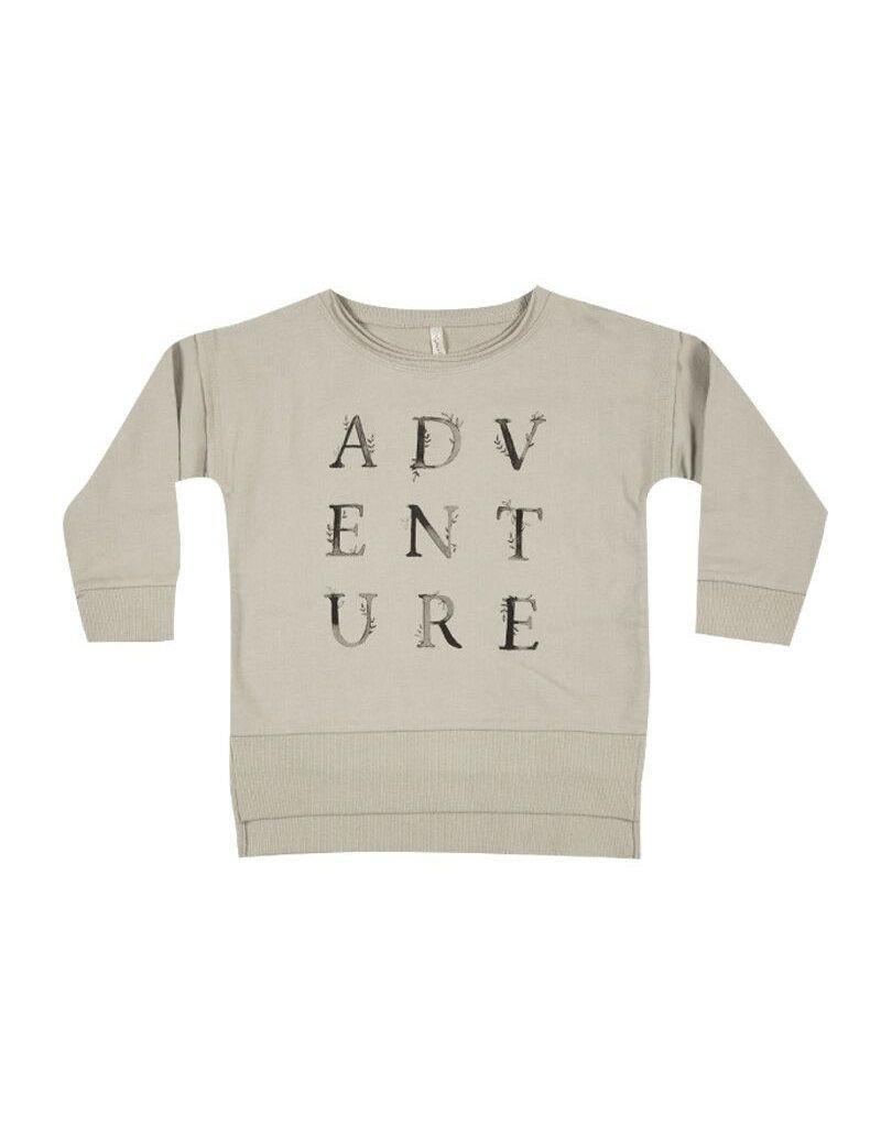 rylee cru rylee + cru longer back sweatshirt