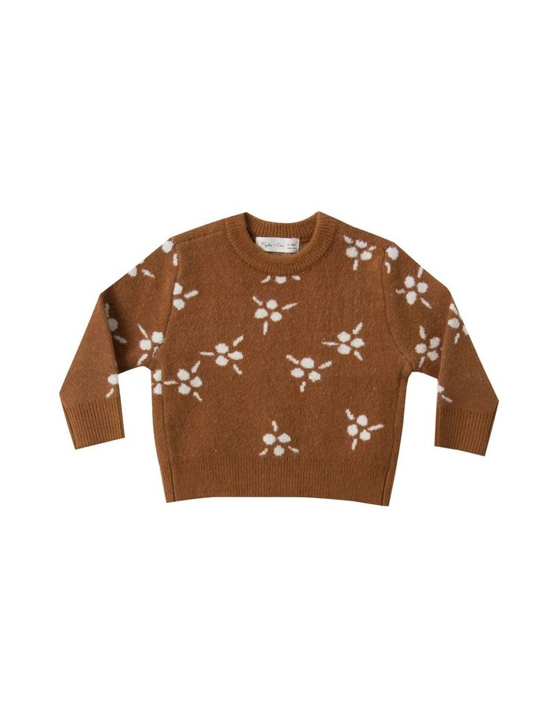 rylee cru rylee + cru jacquard pullover