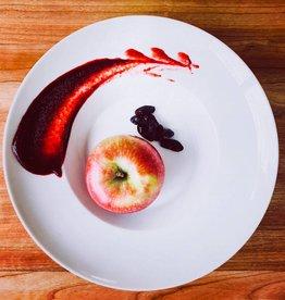 Compote de pomme et camerises