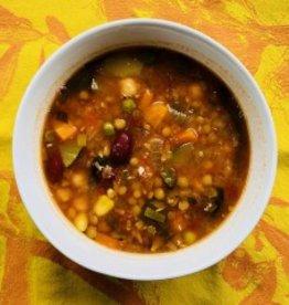 Minestrone aux 18 légumes et miso