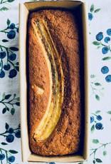 Pain banane, coco et lime