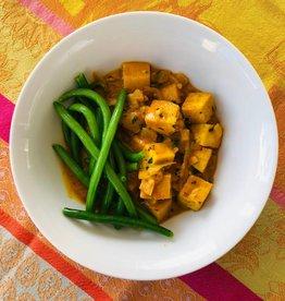 "Tofu ""au beurre"""