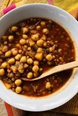 Soupe aux légumineuses à la marocaine