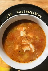 Soupe Poulet Alphabet et tomate