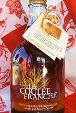 Litre en verre de sirop d'érable La Coulée Franche (Ecocert)