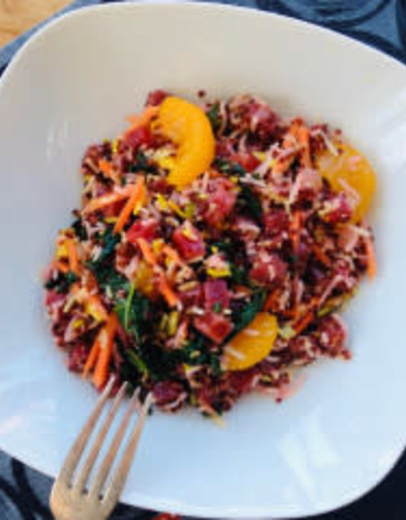 Salade de betterave, quinoa et mandarine