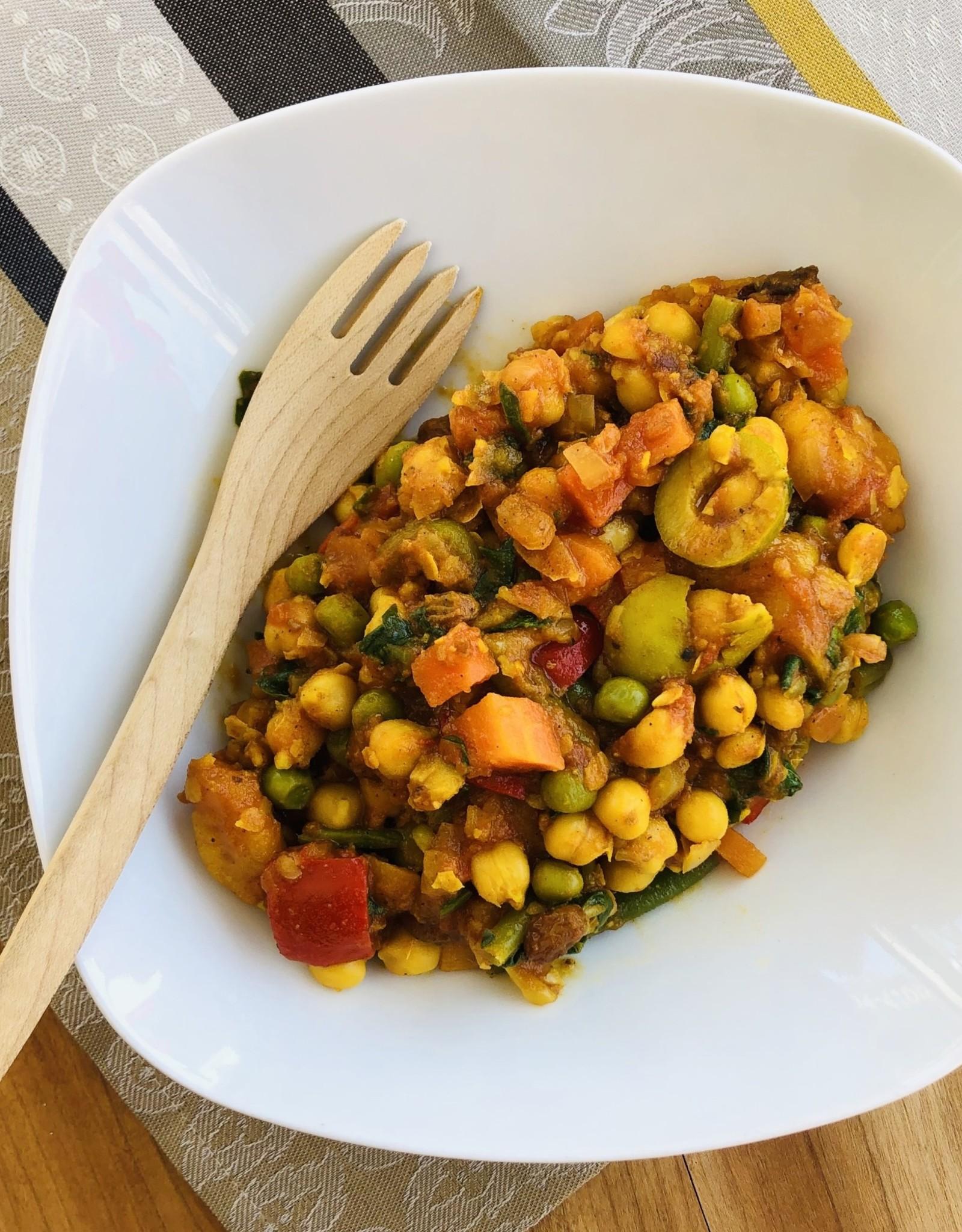 Ragoût aux légumes à la marocaine