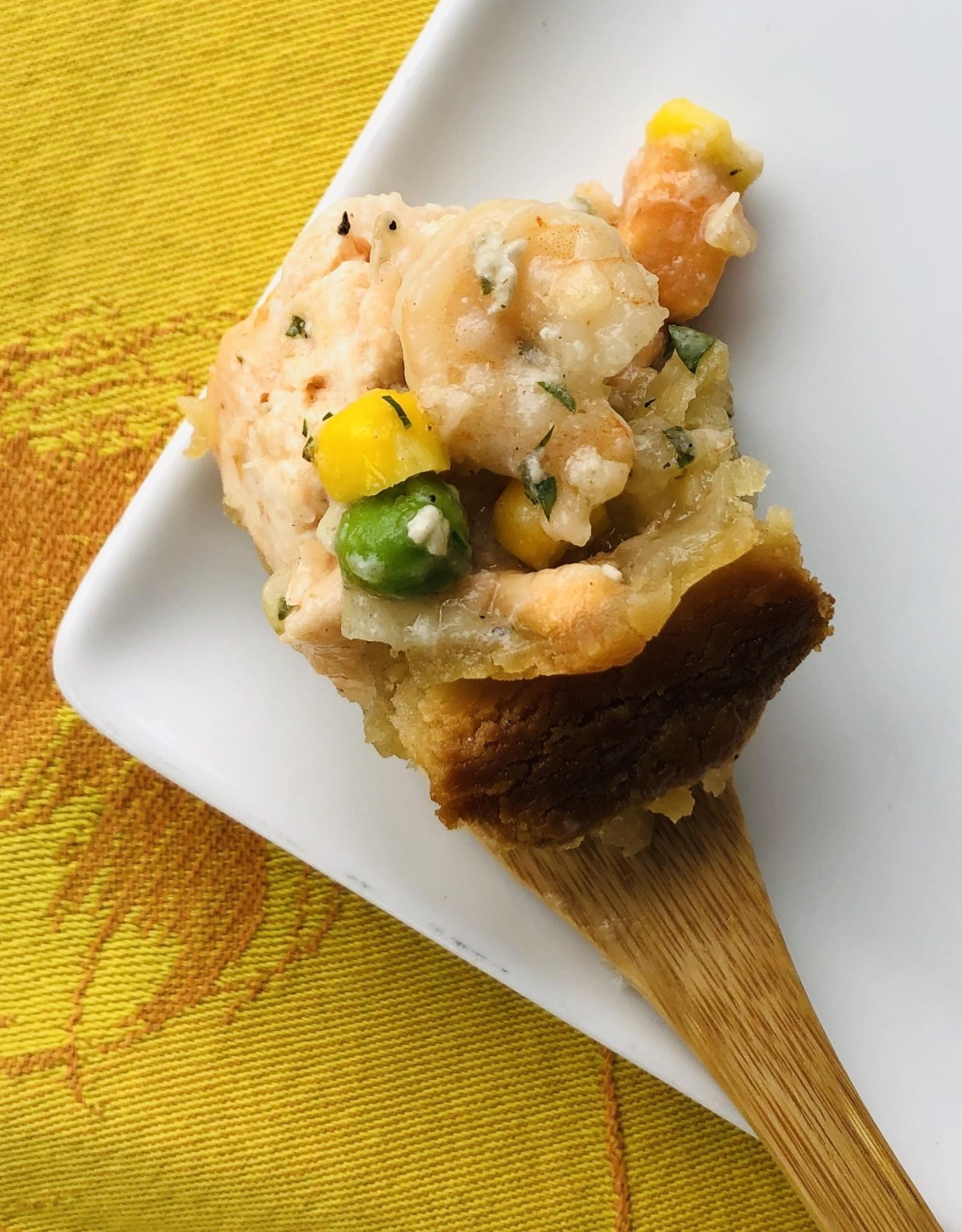 """Pâté """"Chaudrée de saumon et crevettes"""""""