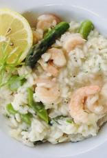 Risotto de crevettes et asperges (Pour 2)