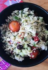 Salade grecque à l'orzo