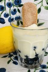 Bagatelle aux bleuets québécois et citron
