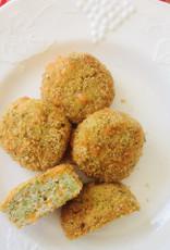 Grosses croquettes de poulet, brocoli et cheddar (4)
