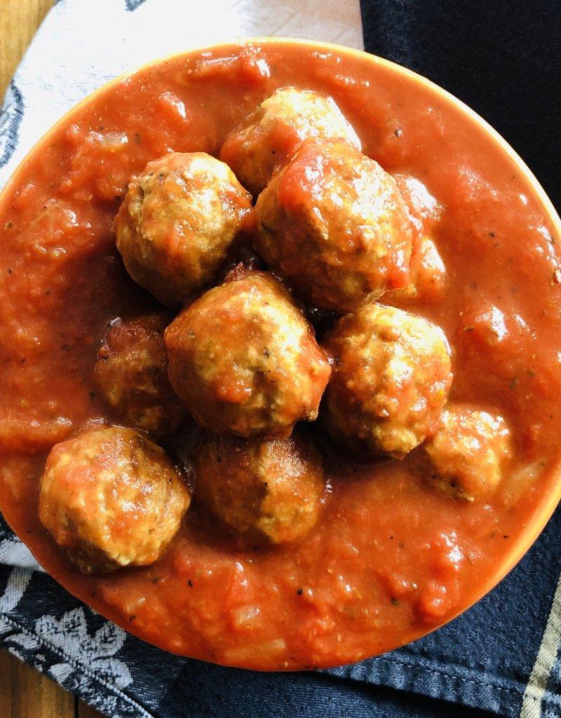 Sauce aux petites boulettes boeuf/parmesan