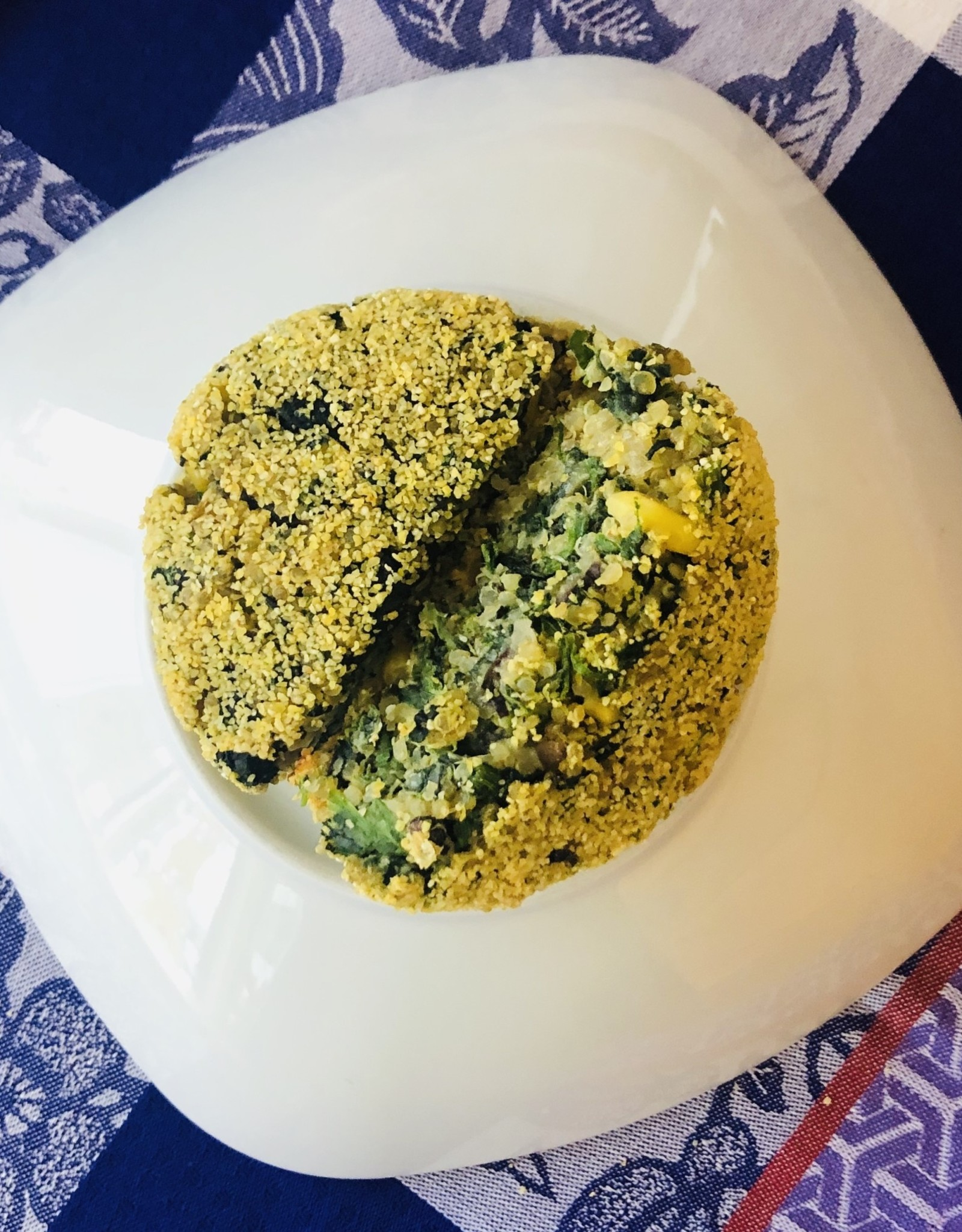 Croquettes de quinoa mexicaine