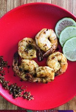 Crevettes noix de coco et lime (cuites sous-vide)