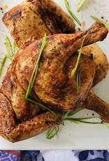Poulet en crapaudine BBQ des Ravitailleurs (déjà cuit)