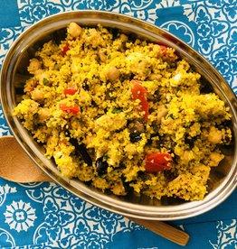 Salade de couscous au poulet tunisien