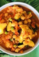 Légumes à la vindaloo (indien)