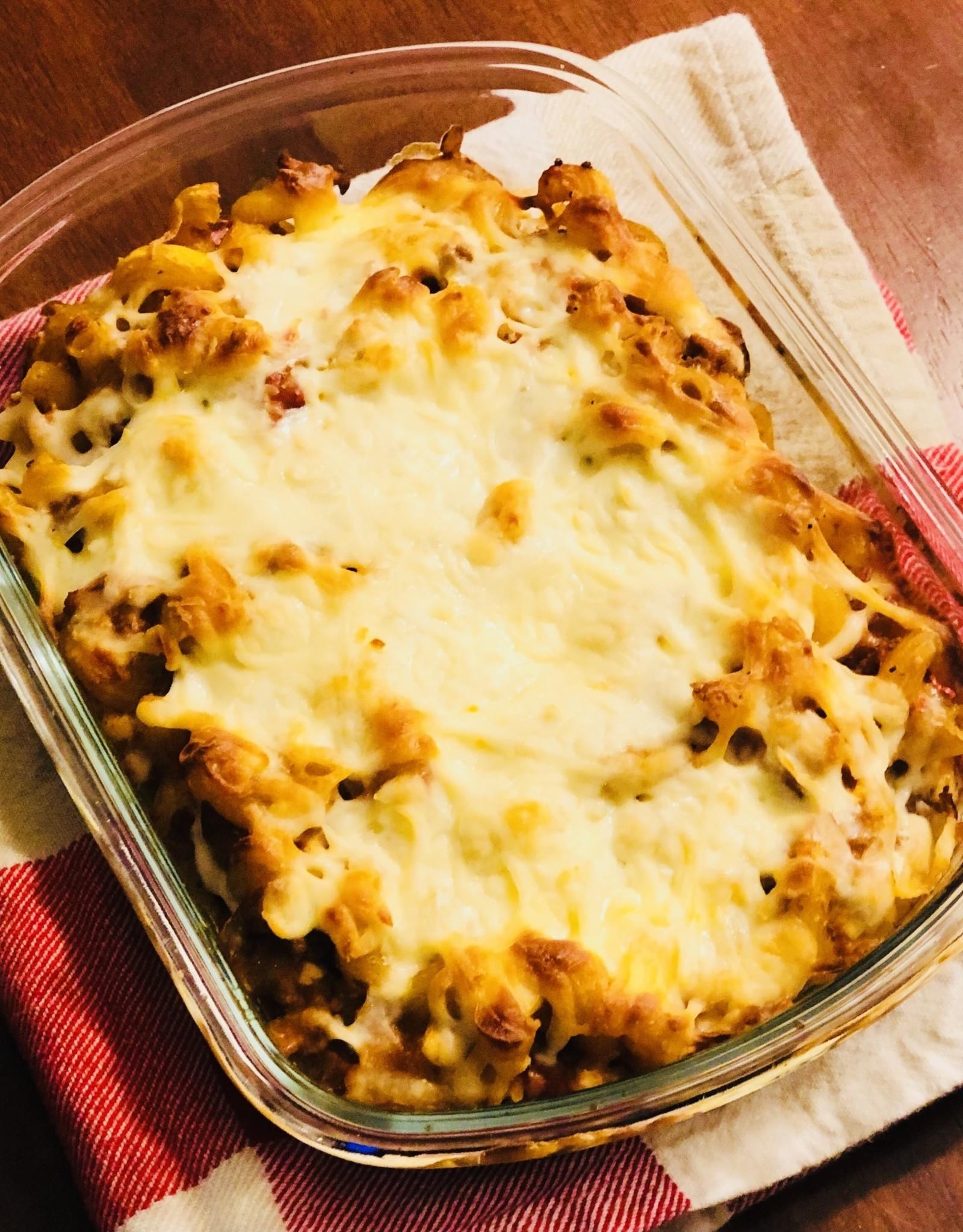 Macaroni à la viande