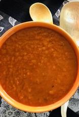 Velouté de poivrons rôtis et patates douces