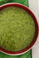 Potage aux légumes verts