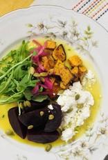 Salade de betterave, courge et feta