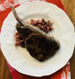 Porc Beaurivage  au rub de café Newland (cuit sous-vide)