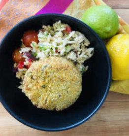 Croquettes de thon, fromage et patate douce