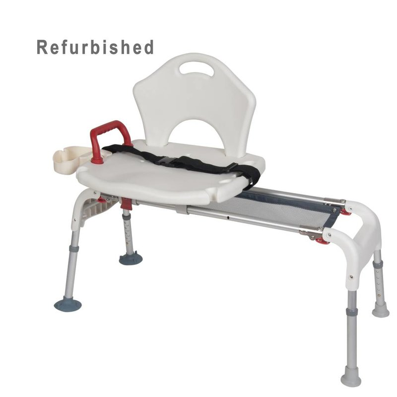Refurbished Sliding Transfer Bath Bench