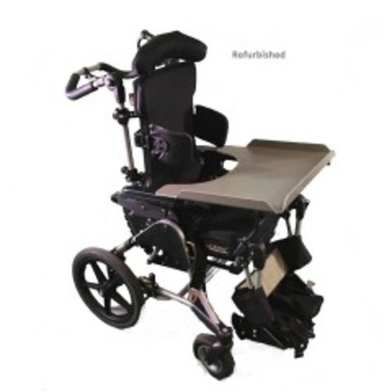 Refurbished Pediatric Transport with Table and Handbrake