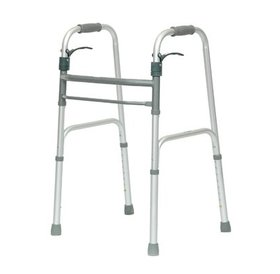 ProBasics ProBasics Sure Lever Release Folding Walker (No-Wheels)