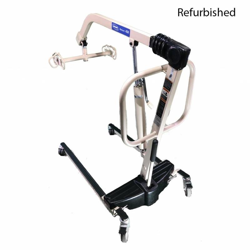 Invacare Refurbished Invacare Reliant 450 Manual Patient Lift #12LSZ020003