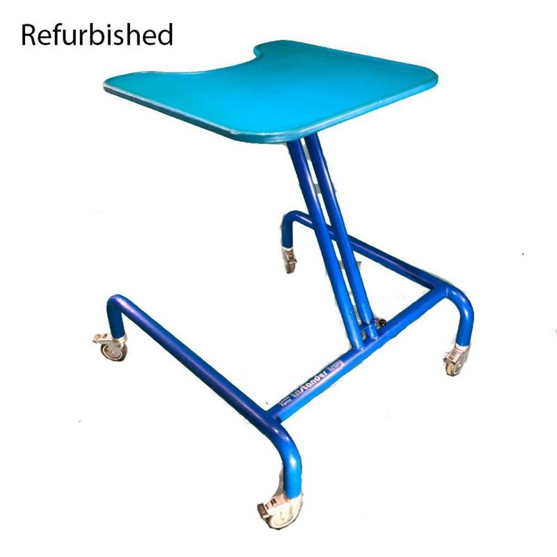 Refurbished Tumble Forms Tristander with Tray - Blue