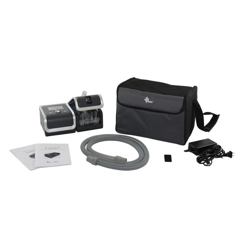 3B Medical Luna Auto-CPAP System With Integrated Heated Humidifier, QR Coding, SD Card, iCode and RESlex Exhalation Relief