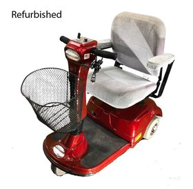Refurbished Pace Saver Power Scooter - Red