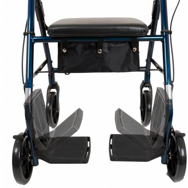 PMI PMI Rollator To Transport Chair Combo, Blue
