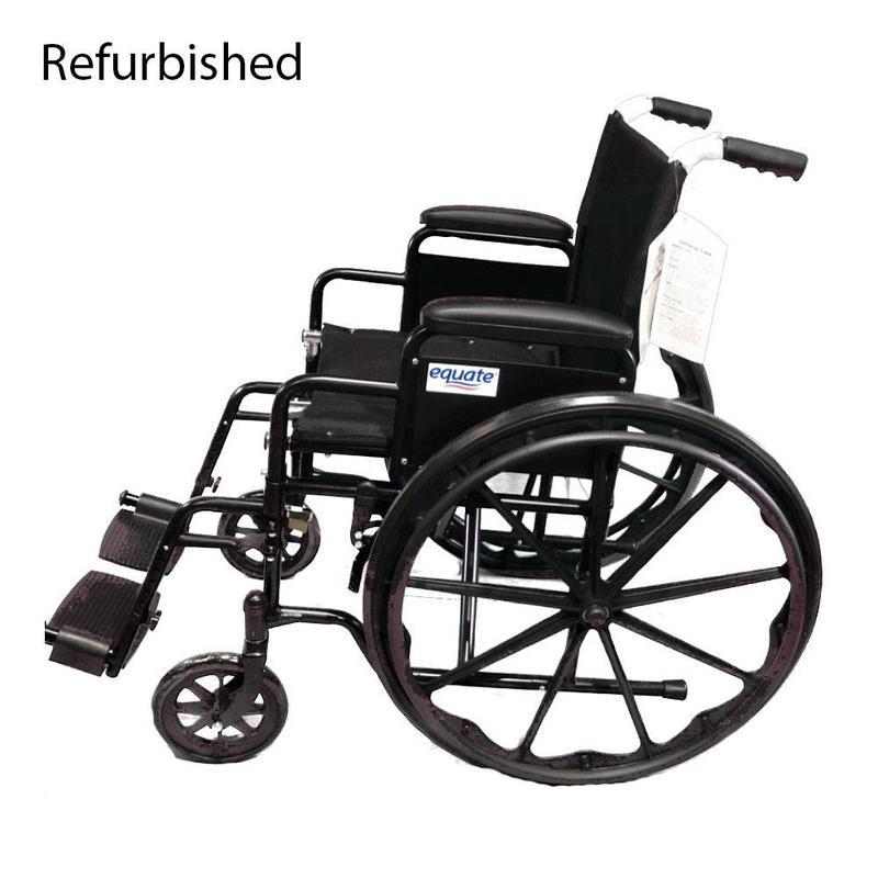 Equate Refurbished Equate Manual Wheelchair