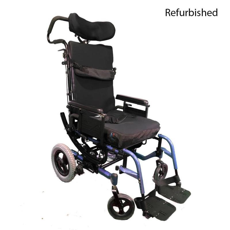 Refurbished Quickie IRIS Pediatric Wheelchair - Blue