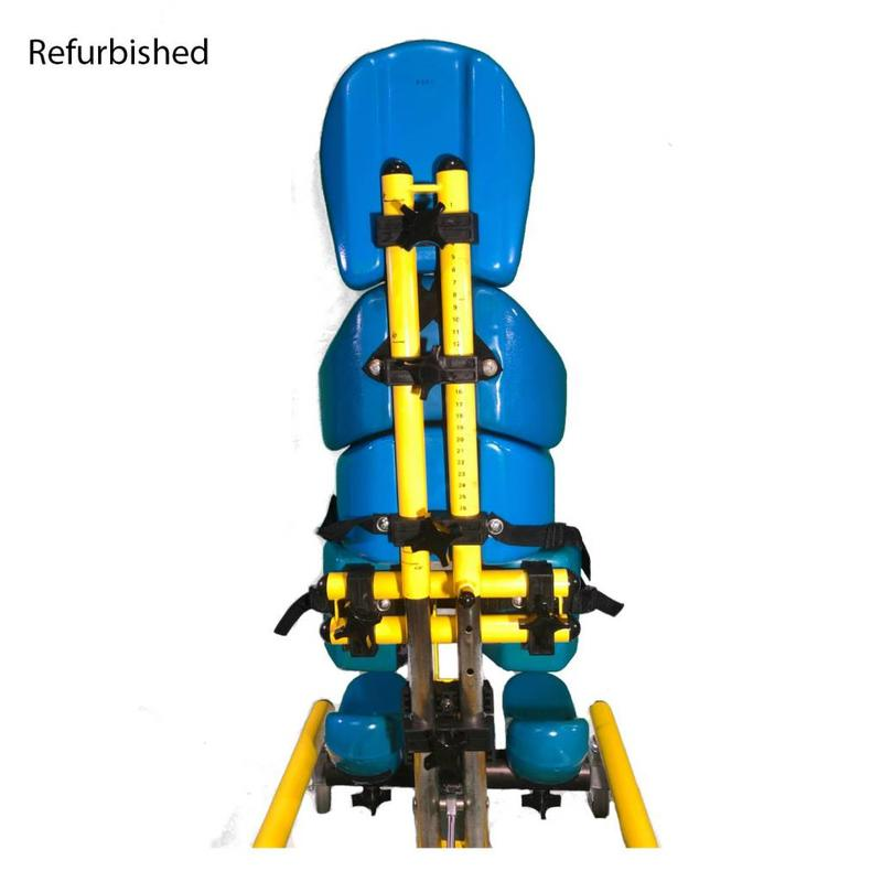 Refurbished Tumble Forms Tristander w/ Tray - Blue and Yellow