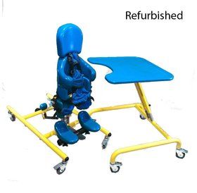 Refurbished Tumble Forms Tristander 45 w/ Tray - Blue and Yellow