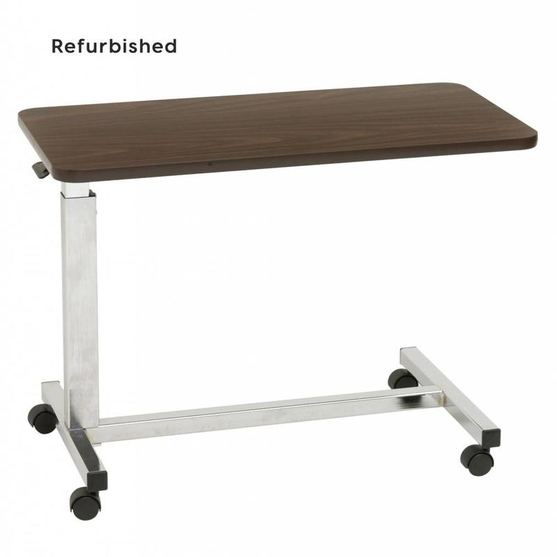 Refurbished Non-Tilt Overbed Table (GRP)