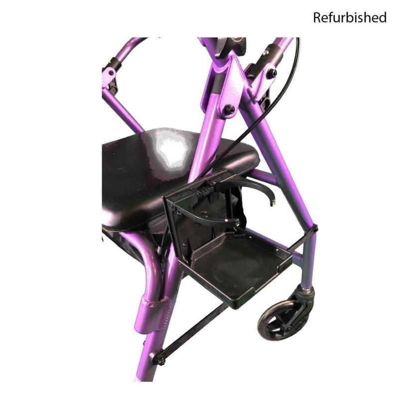 Nova Refurbished Nova 4236PL Rollator - Purple