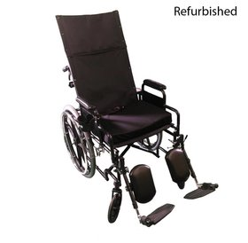 Drive Medical Refurbished Drive Silver Sport Manual Wheelchair