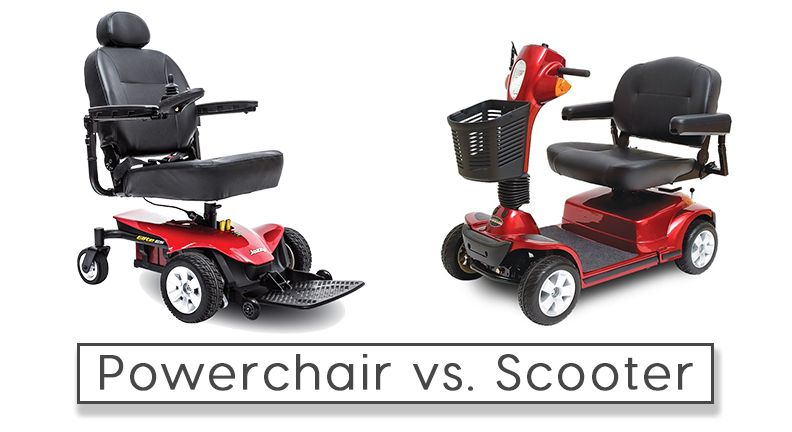 Powerchair vs. Scooter