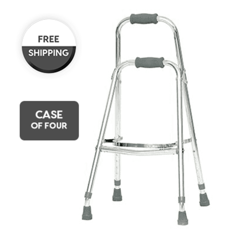 ProBasics Probasics Folding Hemi Walker (Case of 4), 250 lb Capacity