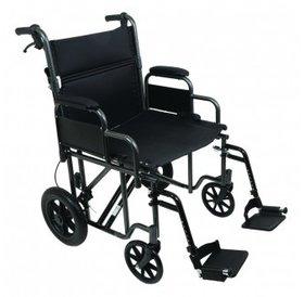 "ProBasics ProBasics 22"" Bariatric (Heavy Duty) Steel Transport Wheelchair"